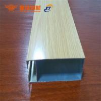 China New design different surface treatment aluminum extrusion profiles for windows and doors for sale