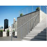 Wholesale Stainless Steel Railing System Grill Design , Exterior Rope Handrail from china suppliers