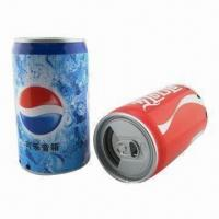 Wholesale Promotional Gift Can Speaker Novelty Speakers with 100Hz to 18kHz Frequency from china suppliers