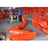 China Solid Float PVC Oil Boom/Oil Spill Boom /PVC Oil Containment Boom Rubber Oil Boom on sale