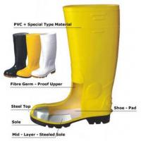Wholesale Safety Boot with Steel Top & Sole from china suppliers