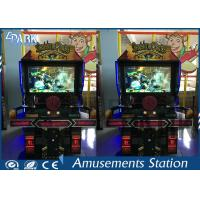 Coin Operated Game Shooting Arcade Machines With Steering Wheel For Driving for sale