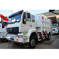 Wholesale Sinotruk SWZ Garbage Compactor Truck , Rear Loader Garbage Truck from china suppliers