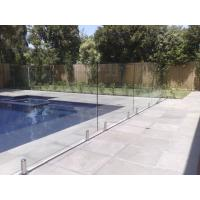 316 Anti-Rust Stainless Steel Spigots Frameless Swimming Pool Glass Railing