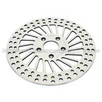 Mirror Polished Harley Davidson Parts Front Stainless Steel Brake Rotors for sale