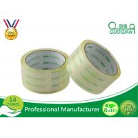Quality 48mm Acrylic Adhesive Crystal Clear Packing Tape Box Sealing 8M Length for sale