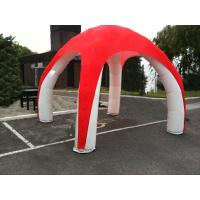 Wholesale Duarable PVC Inflatable Tent With 4 Legs , Customzied X - Pod Inflatable Spider Tent from china suppliers