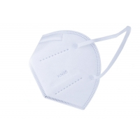 Wholesale Melt Blown Disposable White KN95 Civil Protective Mask from china suppliers
