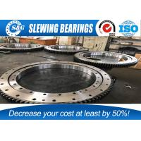 Buy cheap VOLVO / DOOSAN Excavator Slewing Bearing , Single Row Four Point Ball Slewing Bearings from wholesalers