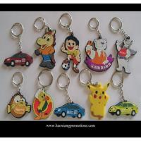 Wholesale Custom promotional silicone rubber keychain,cheap custom fashion souvenir keychain from china suppliers