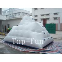 Wholesale Backyard Inflatable Water Park Iceberg For Lake / River / Swimming Pools from china suppliers