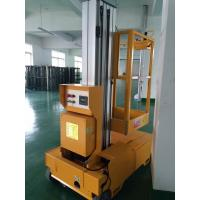 Wholesale Self Propelled Electric Cherry Picker Single Mast Aerial Platforms Manlift from china suppliers