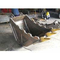 Quality Quick Hitch Hydraulic Excavator Bucket With Thumb Grapple Multi Functional for sale