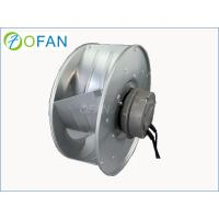 Wholesale High Pressure Centrifugal Backward Curved Fan / EC Industrial Fan Blower from china suppliers