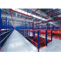 Wholesale Powder Coating Warehouse Storage Mezzanine Racking System For Factory And Industrial from china suppliers