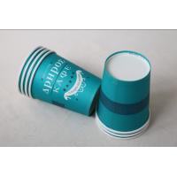 Wholesale 12 Oz 380ml Single Wall Paper Cups For Hot Drinks With Lids In Blue Color from china suppliers