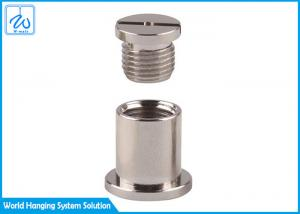 China 7x19 16mm Insert Nipple Suspended Ceiling Parts on sale