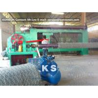 Wholesale Automatic Gabion Box Machine Making Hexagonal Fence With Automatic Stop System from china suppliers