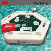 Wholesale Plastic Outdoor Amusement Equipment Luminous Swimming Pool Floating Poker Table from china suppliers