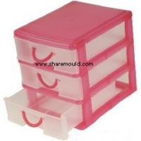 China plastic drawer mould on sale