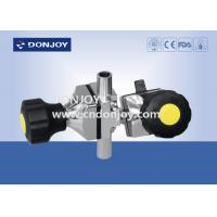 Buy cheap 316L Mini - type Tee Three - way Sanitary Diaphragm Valve T type Tee for Fluid from wholesalers