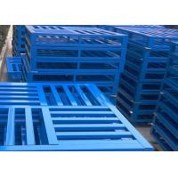 Wholesale Durable Economical Heavy Duty Pallets , Custom Metal Pallets For Food / Pharmaceutical / Chemical Industries from china suppliers