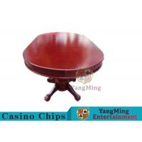 Wholesale 110 Inch Deluxe 10 Person Casino Poker Table With Customized Countertop Runway from china suppliers