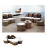 vogue design outdoor sofa rattan/outdoor set furniture E-520 for sale