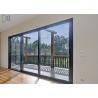 Buy cheap Entrance Security Mesh Aluminium Alloy Sliding Stacker Door Double Glazed from wholesalers