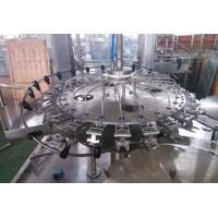 China Automatic Bottle Rinsing Carbonated Drink Filling Line Stainless Steel Structure on sale