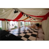 Wholesale Custmized 6x18m Outdoor Tents Marquee Luxury Decoration for Wedding Parties from china suppliers