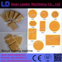 Wholesale small scale biscuit machine biscuit industrial machines from china suppliers
