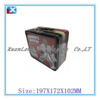 Wholesale beautiful big Lunch tin box for food from china suppliers