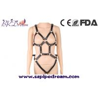 Wholesale BDSM bondage leather harness belt slave clothes sexy lingerie slave fetish wear fun erotic clothing from china suppliers