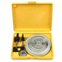 China Steel Hole Saw Cutter Kit 16Pcs for Wood / Plasterboard / Plastic and Non Ferrous on sale