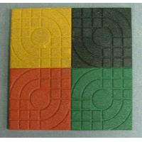 China Yellow Rubber Surfacing Playground Rubber Mats For Outdoor Play Areas on sale