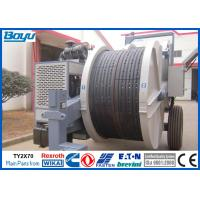 Wholesale Overhead Cables Power Line Stringing Machine , Two Bundle Conductor Tension Machine from china suppliers