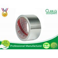 Quality Reinforced Heat Resistant Foil Tape For Fefrigerator Wind Pipe Sliver Color for sale
