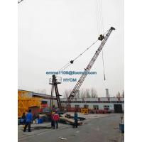 China D3015 Derrick Crane Tower Building 200mts Height Lift 2Tons Material for sale