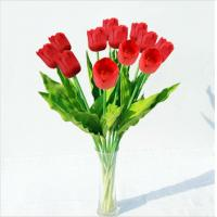 China Wholesale Artificial Flowers Red Tulips on sale