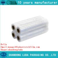 China Popular Pallet Packaging Plastic Roll Film Stretch lowest price cling film on sale