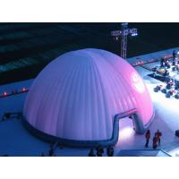 Wholesale UV - Resistance Lighting Dome Party Inflatable Tent For Stage Cover 30m from china suppliers