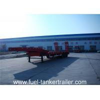China Heavy Duty Transport 2 3 4 Axles Low Bed Semi Trailer for sale on sale