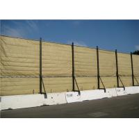 Wholesale Temporary Acoustic Barriers Cut Edge for for 6' x 12' chain link fence panels from china suppliers