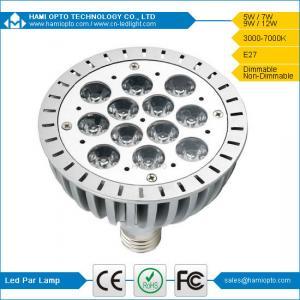 China Energy Saving LED PAR 38 Light Lamp, 12W Par LED Lights 30º 45º 60º 120º Beam Angle on sale