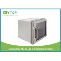 Lab 304 Stainless Steel Pass Box GMP Standard For Pharmaceutical Clean Room for sale