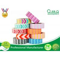 Quality Arts Make / Crafts Decorative Washi Masking Tape Custom Printing For Gift Box for sale