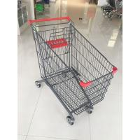 Wholesale 270L Supermarket Shopping Trolley With Anti-UV Plastic parts And 4 casters from china suppliers