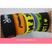 wholesale custom bulk cheap silicone wristband for sale
