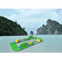 Wholesale Island Inflatable Water Park , Fantastic amusement parks For Commercial Event from china suppliers